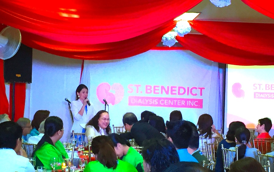 MARYLAINE LOUISE HOSTS ST BENEDICT DC EVENT