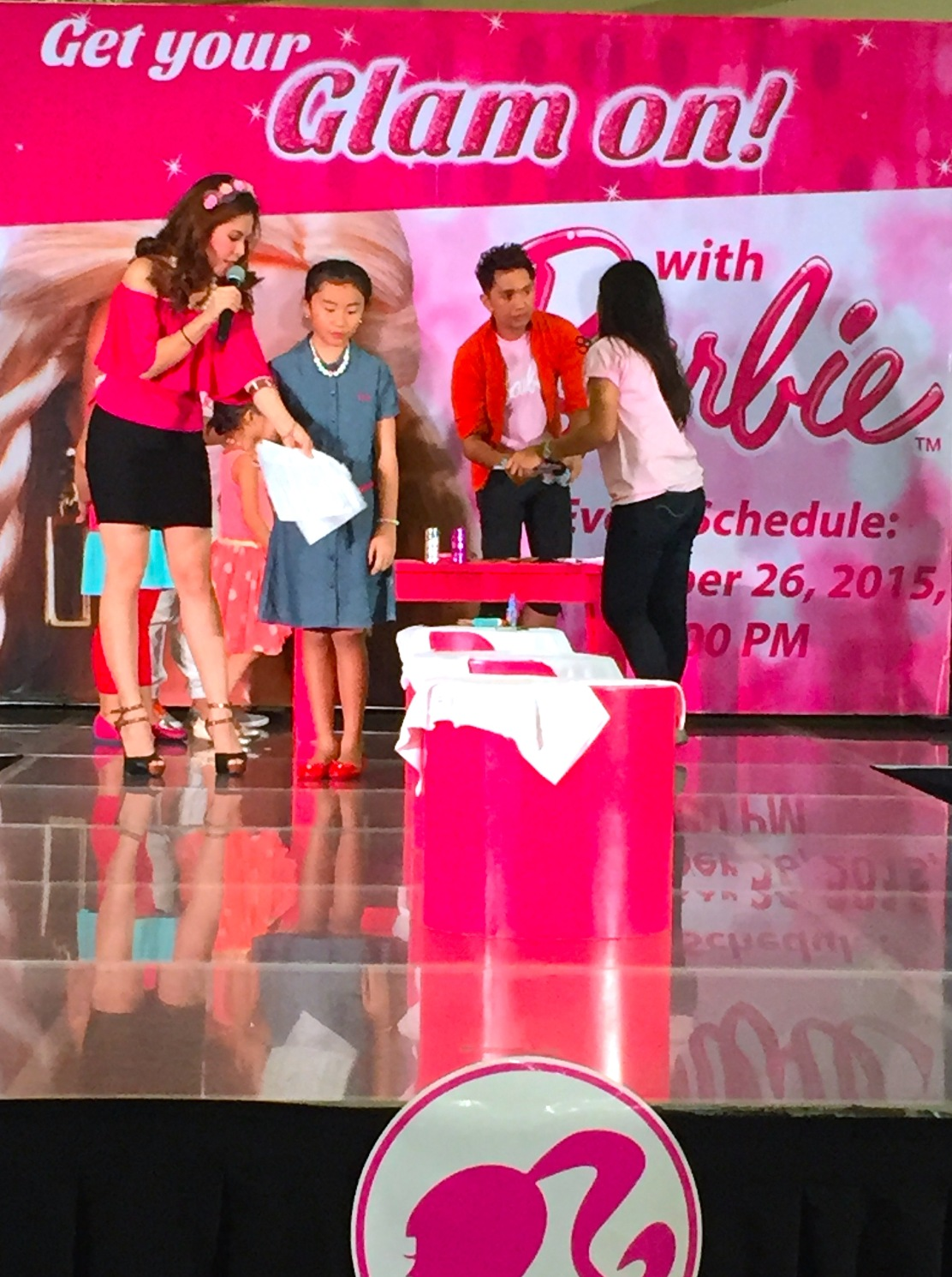 BARBIE GAME - MARYLAINE VIERNES EVENTS HOST