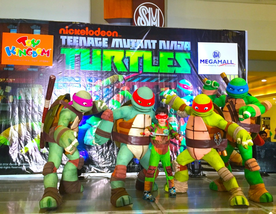 MARY VIERNES TEENAGE MUTANT NINJA TURTLES EVENTS HOST