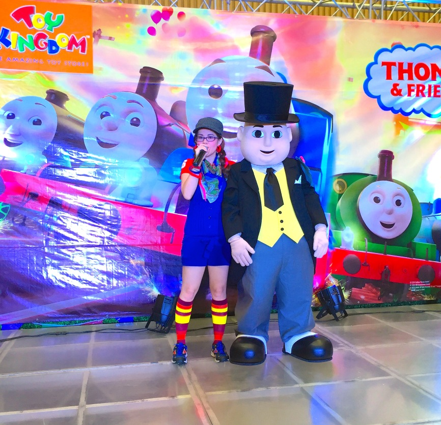 MARYLAINE LOUISE VIERNES WITH THOMAS AND FRIENDS EVENT SM SOUTHMALL