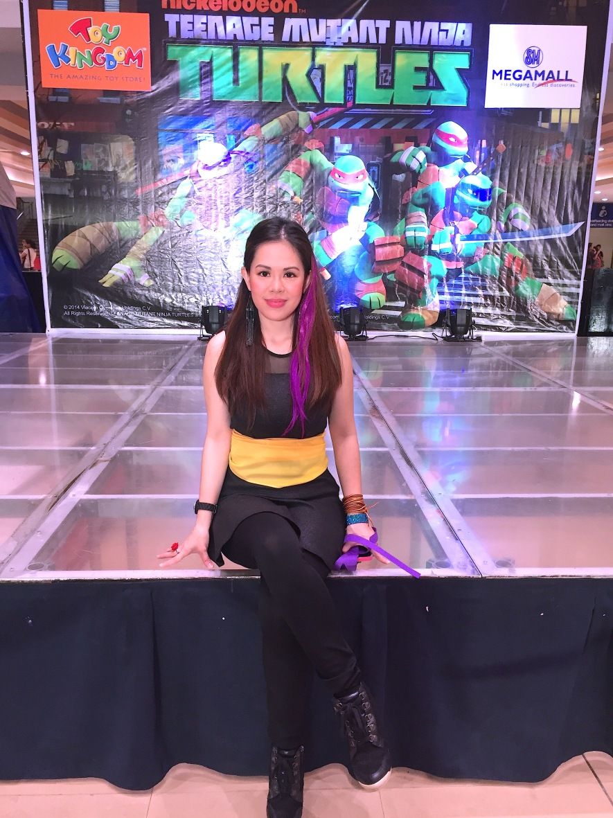 MARYLAINE VIERNES NICKELODEON TMNT HOST