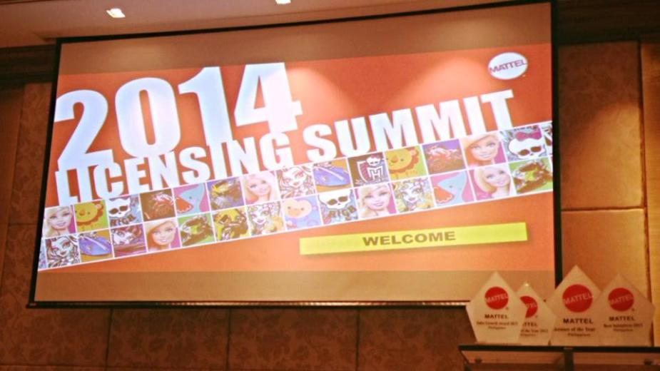 MATTEL LICENSING SUMMIT FOR 2014