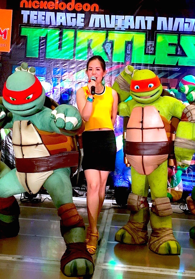 TEENAGE MUTANT NINJA TURTLES MARYLAINE VIERNES EVENTS HOST