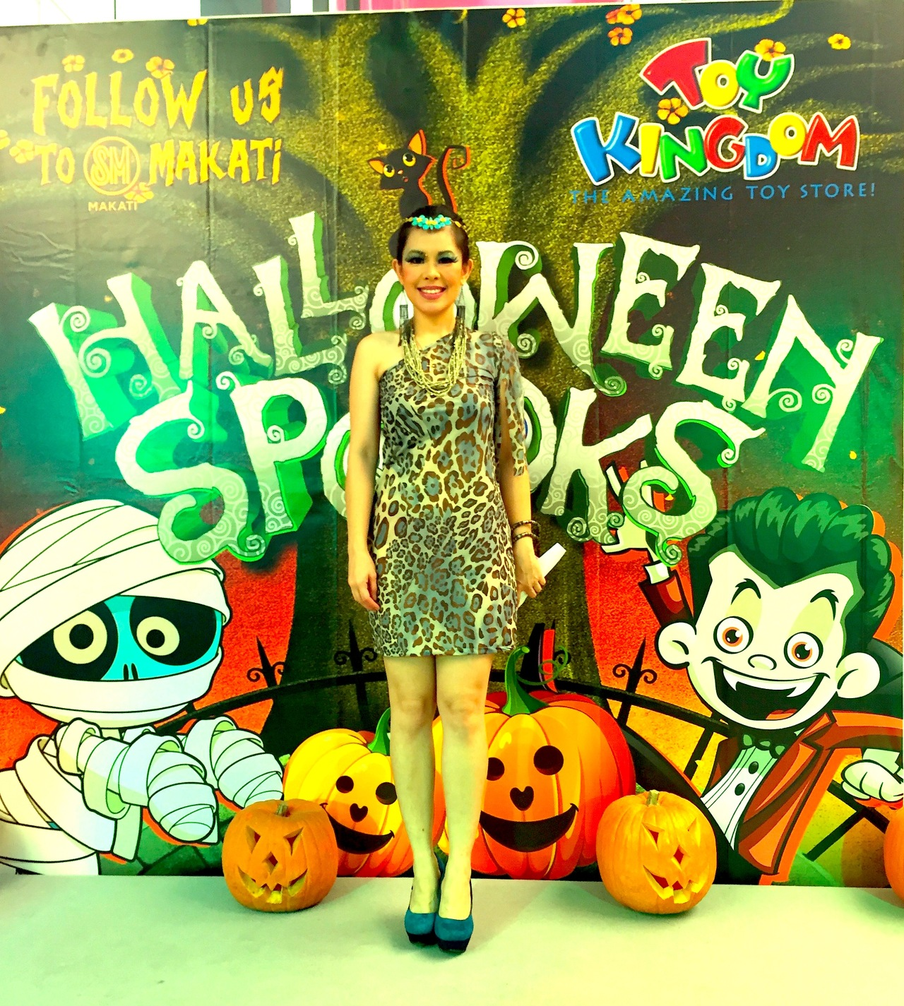 Marylaine Viernes for SM Makati Halloween Spooks Party ...