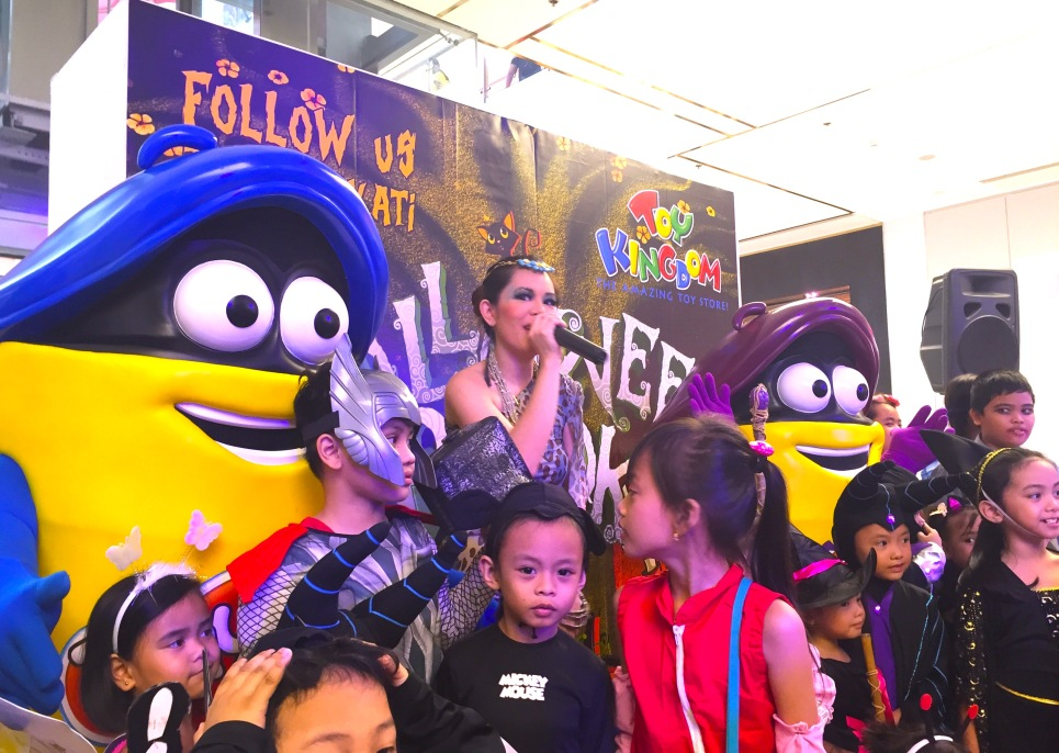 Marylaine Viernes Play Doh Halloween Spooks at SM MAKATI - Events Host